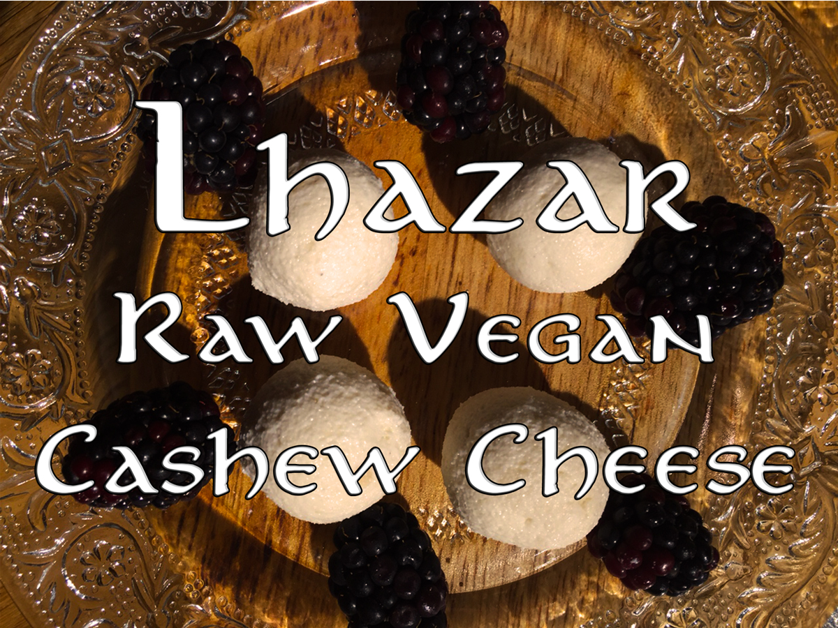 Lhazar raw vegan cashew cheese