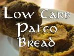 Low carb ketogenic paleo bread garlic rolls