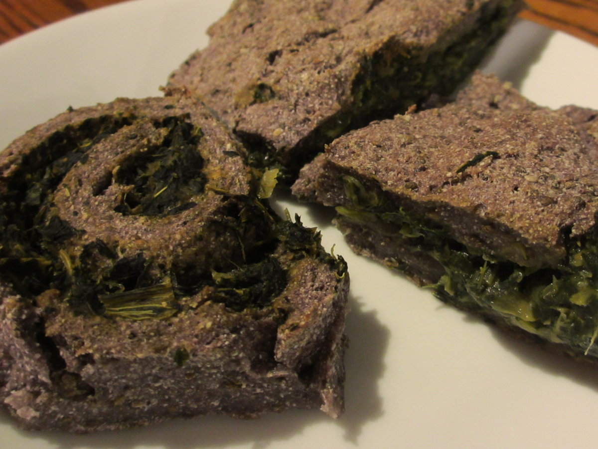 low-carb-vegan-spinach-bread